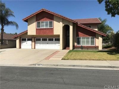 San Dimas Single Family Home For Sale: 133 Buckingham Avenue