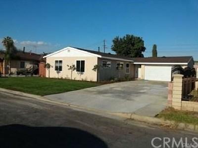 Covina Single Family Home For Sale: 4816 N Fircroft Avenue