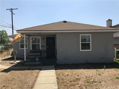 Azusa Single Family Home For Sale: 1044 N Alameda Avenue
