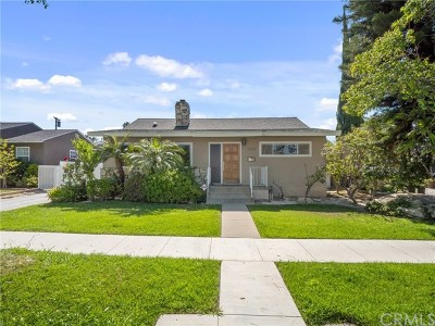 Bixby Knolls (Bk) Single Family Home For Sale: 4455 Elm Avenue