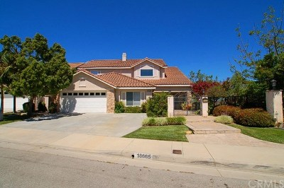 Rowland Heights Single Family Home For Sale: 18665 Vantage Pointe Drive