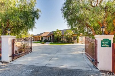 Fallbrook Single Family Home For Sale: 606 Via Cumbres