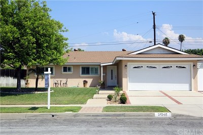 Covina Single Family Home For Sale: 21245 E Nubia Street
