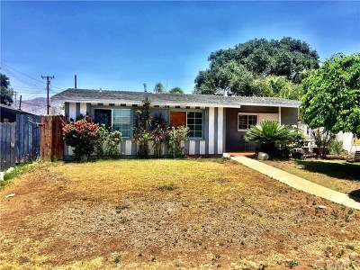 Glendora Single Family Home For Sale: 667 Armstead Street