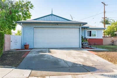 Whittier Single Family Home For Sale: 13301 Close Street