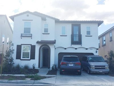 Chino Single Family Home For Sale: 7841 Wild Rye Street