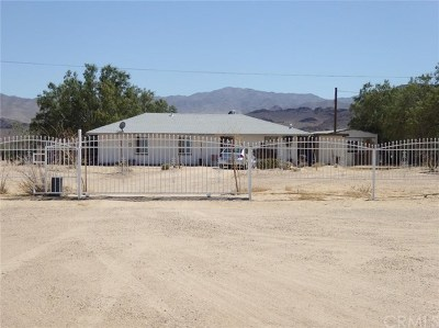 Newberry Springs Single Family Home For Sale: 46425 National Trails