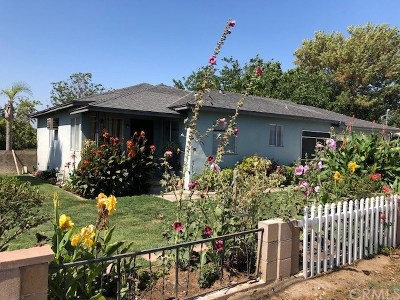 Corona Single Family Home For Sale: 14281 Chandler Street