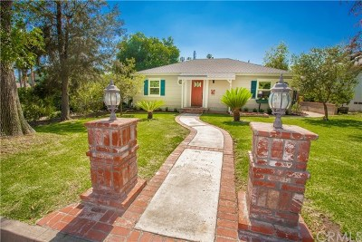 Glendora Single Family Home For Sale: 631 N Vermont Avenue