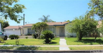Azusa Single Family Home For Sale: 433 S Angeleno Avenue