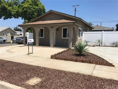 Pomona Single Family Home For Sale: 1060 S Rebecca Street