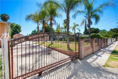Baldwin Park Multi Family Home For Sale: 12732 Bess Avenue