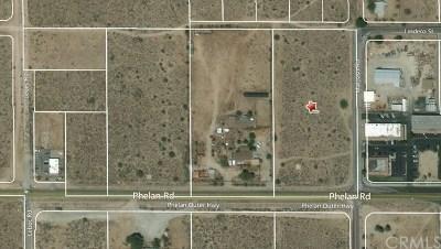 Phelan Residential Lots & Land For Sale: Phelan Road