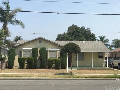 Bellflower Single Family Home For Sale: 13424 Clark Avenue