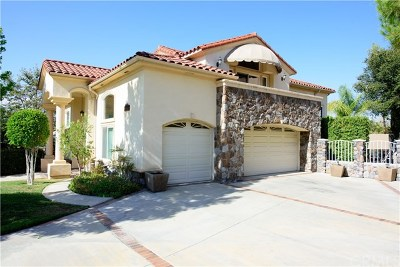San Dimas Single Family Home For Sale: 1581 Calle Cristina