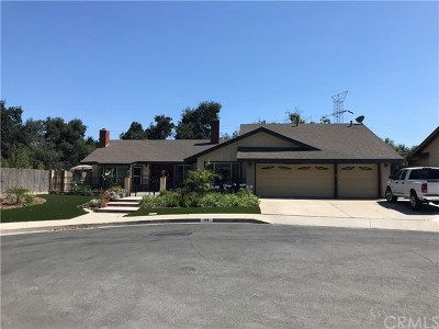 San Dimas Single Family Home For Sale: 118 Marshall Court