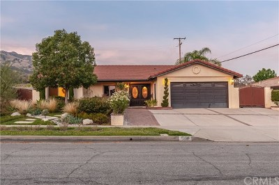 Glendora Single Family Home Active Under Contract: 538 Willowgrove Avenue