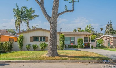 Glendora Single Family Home For Sale: 461 E Mauna Loa Avenue