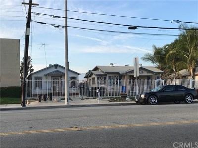 Pomona Multi Family Home For Sale: 119 E Phillips Boulevard