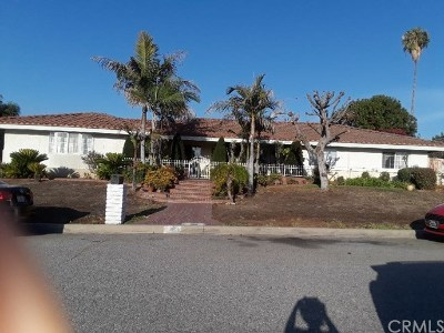 West Covina CA Single Family Home For Sale: $700,000
