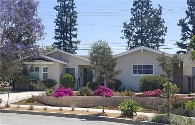 Glendora Single Family Home For Sale: 1714 S Danehurst Avenue