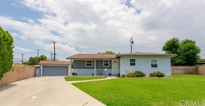 Glendora Single Family Home For Sale: 1616 Windsor Place