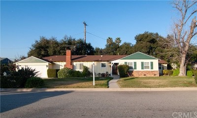 West Covina Single Family Home For Sale: 3571 E Hillhaven Drive