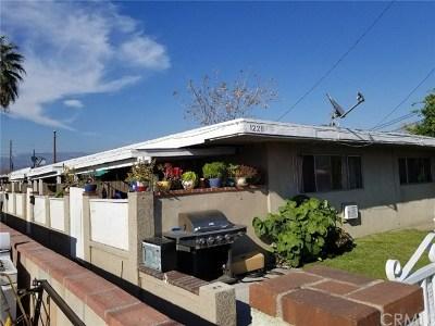 San Bernardino Multi Family Home For Sale: 1226 W Belleview Street