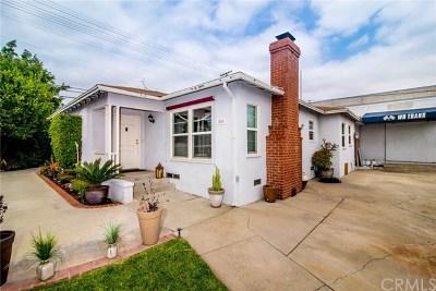 Monrovia Single Family Home For Sale: 850 S Alta Vista Avenue