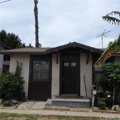 Gardena Multi Family Home For Sale: 16317 S Menlo Avenue