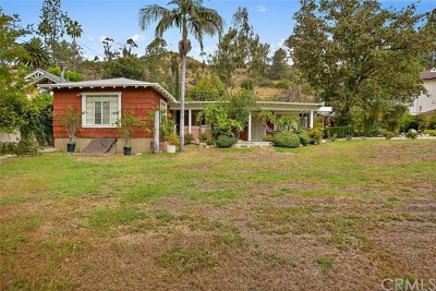Eagle Rock Single Family Home For Sale: 1833 Hill Drive