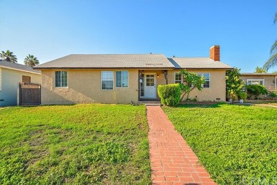 Pomona Single Family Home For Sale: 821 San Bernardino Avenue