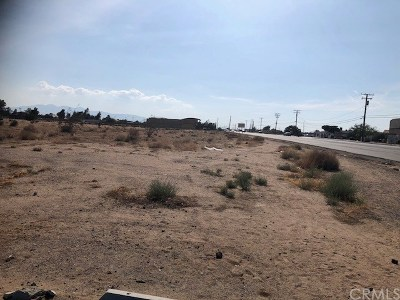 Hesperia Residential Lots & Land For Sale: Main Street