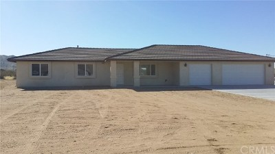 Apple Valley Single Family Home For Sale: 24977 Clark Drive