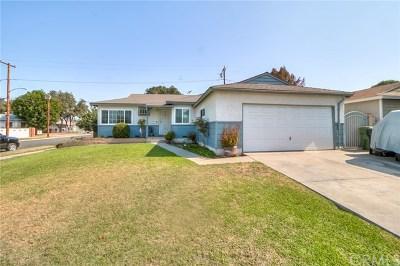 Covina Single Family Home For Sale: 16703 E Kingside Drive