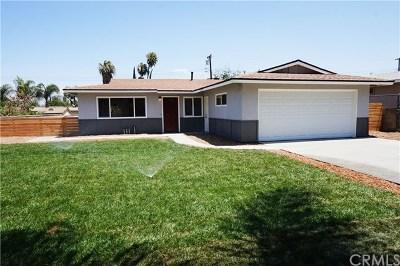 Corona Single Family Home For Sale: 3561 Grant Street