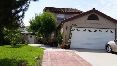 Chino Hills Single Family Home For Sale: 2391 Cottonwood Trail