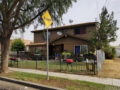 Huntington Park Multi Family Home For Sale: 3609 Hope Street