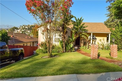 Glendale Single Family Home For Sale: 1272 Crescent Drive