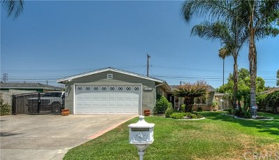 Covina Single Family Home For Sale: 4722 N Larkin Drive