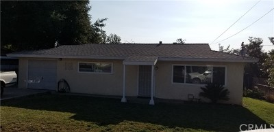 Yucaipa Single Family Home For Sale: 13644 Douglas Street