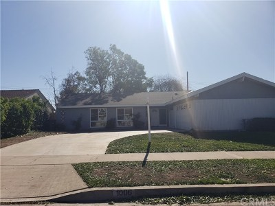 Orange Single Family Home For Sale: 1006 E Rosewood Avenue