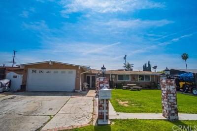 La Puente Single Family Home For Sale: 16228 Dubesor Street