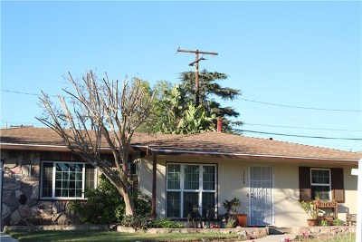 Covina Single Family Home For Sale: 18309 E Bellbrook Street