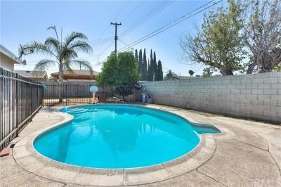 La Puente Single Family Home For Sale: 1518 Hartview Avenue