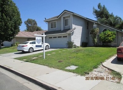 Murrieta CA Single Family Home For Sale: $395,500