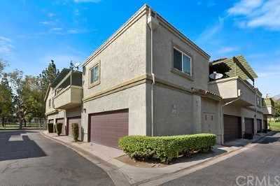 Rancho Cucamonga Condo/Townhouse For Sale: 10156 Shady Oaks Drive #G