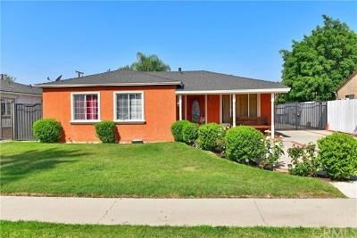 Azusa CA Single Family Home For Sale: $549,000