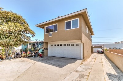 Los Angeles Multi Family Home For Sale: 3448 Hunter Street