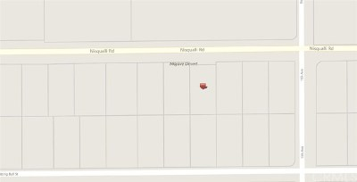 Victorville CA Residential Lots & Land For Sale: $42,000